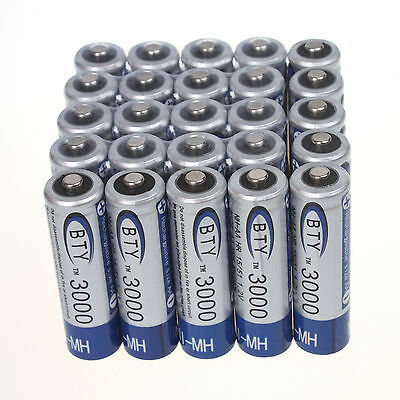 BTY 1.2V 3000mAh Ni-MH Rechargeable Batteries AA Battery for toys flashlight