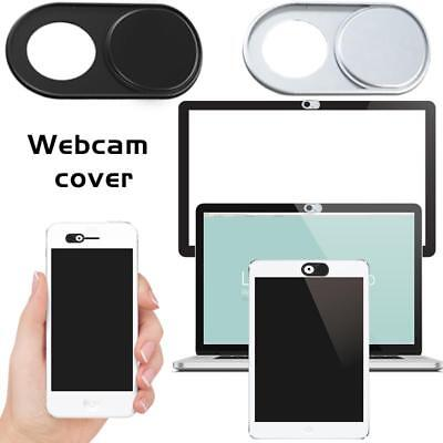 1X Metal Webcam Cover Camera Privacy For Macbook Air iPhone Smartphone pad Black