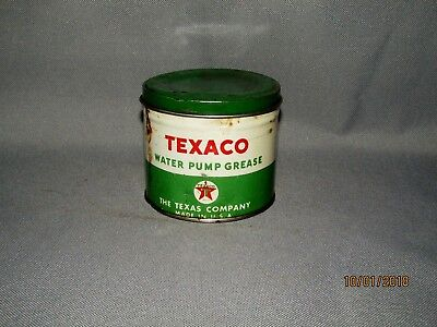 Vintage Texaco Water Pump Grease Can