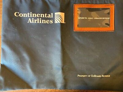 Continental Airlines On Board Revenue Bag