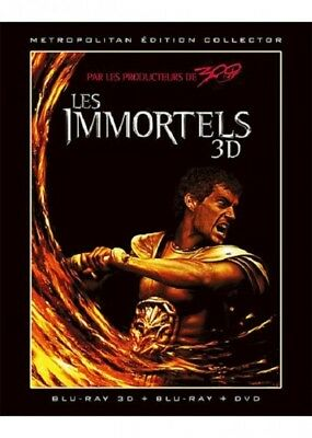Les immortels 3D COMBO STEELBOOK BLU-RAY + DVD NEUF SOUS BLISTER