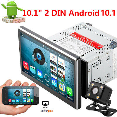 "Double Din 10.1"" Android 8.1 Car Stereo no DVD GPS Navi Radio WiFi OBD2 WIFI CAM"