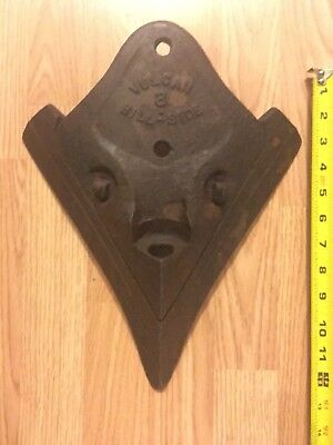 Antique VULCAN Plow Company Hill-Side #8 Turning Plow Blade Only Rare Steampunk