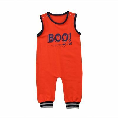Newborn Rompers Infant Baby Kids Boys Sleeveless Casual Outfits Cotton Clothings