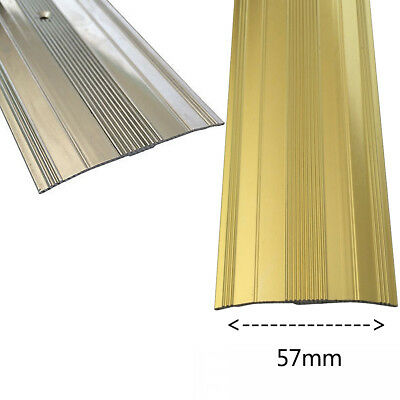 Extra Wide Cover Strip Vinyl Metal Carpet Door Bar Threshold Trim