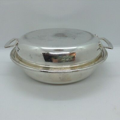 Small Silver Plated Vegetable Tureen