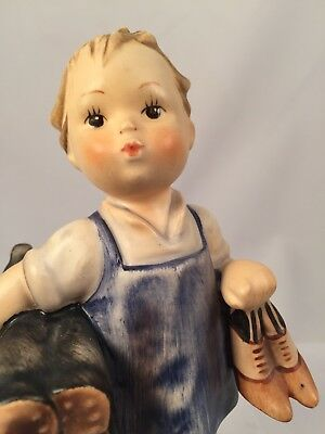 "Hummel 5"" Tall 143/0 Child Cobbler Shoe Maker Figurine"