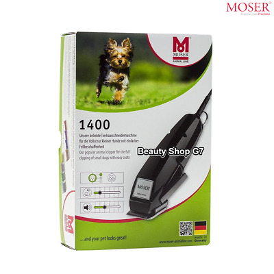 Professional animal clipper Moser 1400 for small dogs pets