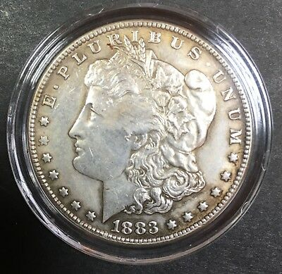 1883cc Morgan Silver Dollar Commerorate Metal Fantasy Coin