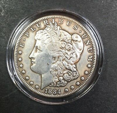 1884cc Morgan Silver Dollar Commerorate Metal Fantasy Coin