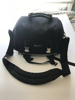 Canon Large Digital Camera Gadget Bag Water Resistant Adjustable Dividers 200DG