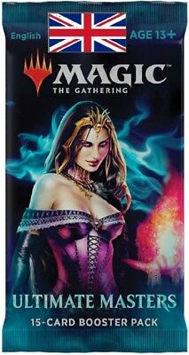 Magic the Gathering - Booster Ultimate Masters -  VO - Anglais - scellé sealed