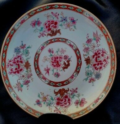 Ancienne Assiette En Porcelaine De Chine Antique Chinese Plate Kangxi 17/18Th