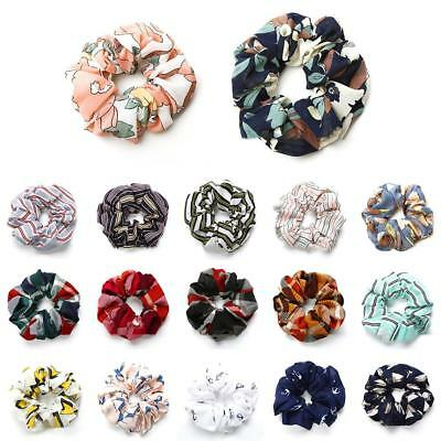 1*Lady Girls Chiffon Hair Scrunchies Elastic Scrunchy fashion ponytail holder UK