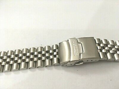 Seiko 20Mm Divers Jubilee Stainless Steel Watch Strap / Band Curved End,( Bd-3 )