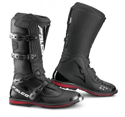 Falco Dust LS Leather Motorcycle adventure Motocross MX Boots size 45 UK 10.5