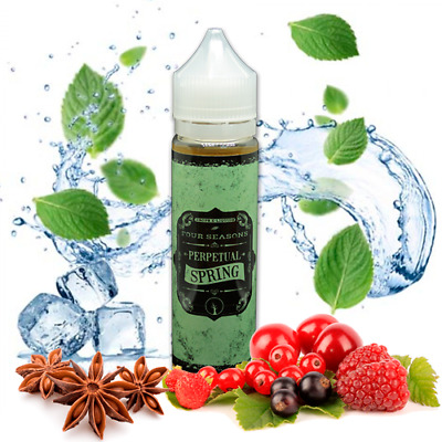E-LIQUID DROPS PERPETUAL SPRING 50 ML (BOOSTER) 00 mg