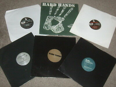"6 x 12""  Hard Hands Vinyl Records Collection.      ELECTRO / TECHNO.    EX CON!!"