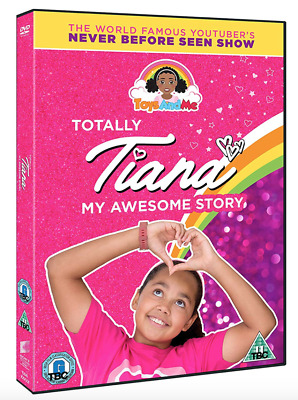 Totally Tiana My Awesome Story UK DVD Region 2 Stock 2018