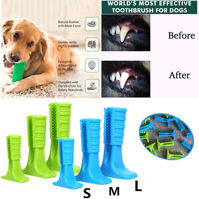 Pet Bristly Brushing Stick World's Most Effective Dog Toothbrush Oral Care Molar