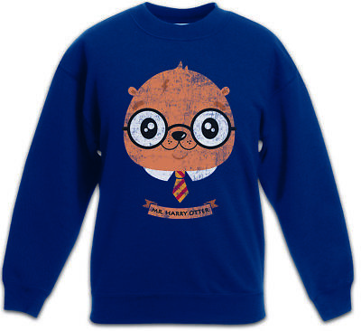 Harry Otter Kids Boys Girls Pullover Fun Potter Wizard Animal Nature Fish River
