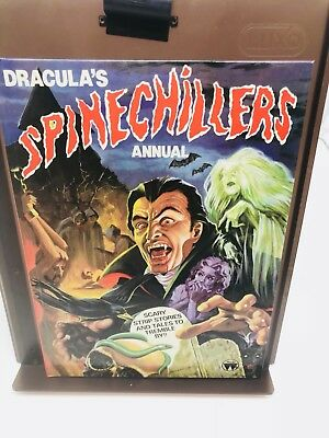 Dracula's Spinechillers Annual 1982 Near Mint!