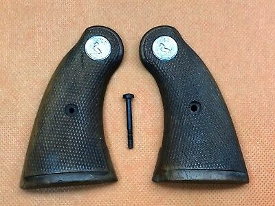 Pair of Vintage Original COLT Small Revolver Grips