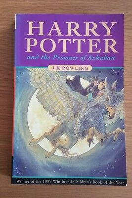 Harry Potter And The Prisoner Of Azkaban By J.k. Rowling First Edition Paperback