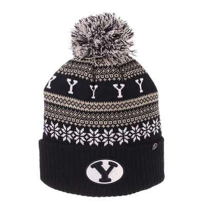 9d86acdc025 BYU COUGARS ZEPHYR Finish Line Pom Knit Beanie -  22.95