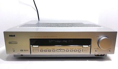 rca home theater audio video receiver rt2360 and manual 64 99 rh picclick com RCA User Manual RCA Television Owner Manual