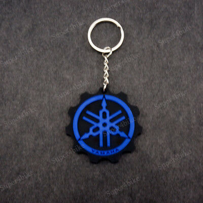 Buell Motorcycle Blue Keychain Key Ring Rubber XB S1 S2 S3 M2 X1 1125 Blast!