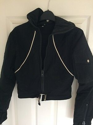 Womens Black vintage Ski Jacket size small 845a66d51