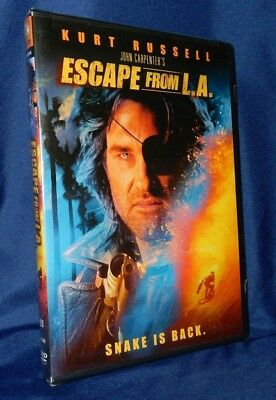 Escape From L.a. / Dvd Starring Kurt Russell / Brand New Sealed / Snake Is Back!