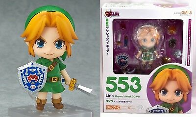 New Nendoroid Link Majora's Mask 3D Ver Action Figure Legend of Zelda Good Smile