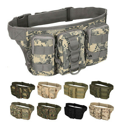 Outdoor Tactical Bag Utility Tactical Waist Pack Pouch Military Camping Bag