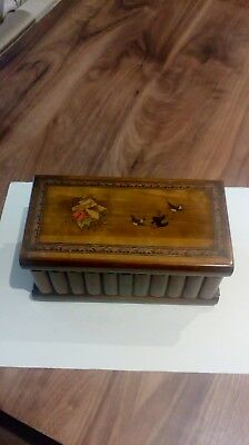 Interesting vintage Box With Hidden Lock