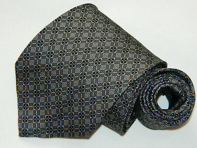Men's Hugo Boss Black  Silk Neck tie made in Italy