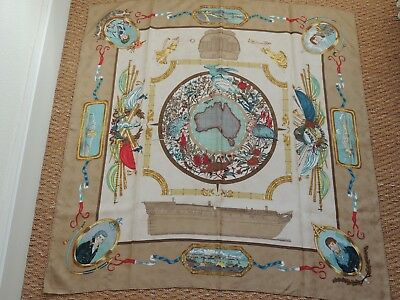 35be27f5a8e4 HERMES CARRE 90 Twill De Soie Silk Scarf Le Geographe Tbe - EUR 250 ...
