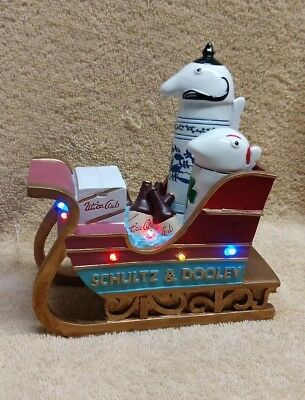 Schultz and Dooley stein Utica Club collector's Christmas sleigh toy collectible