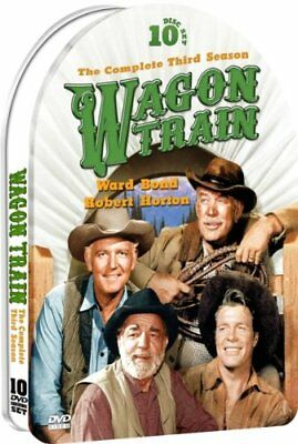 Wagon Train: Season Three - Part One (DVD, 2011, 10-Disc Set, Tin Case)