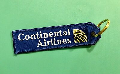 Continental Airlines Key Ring