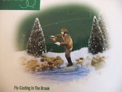 "Department 56  ""Fly Casting in the Brook"" (56633), New England Accessory"