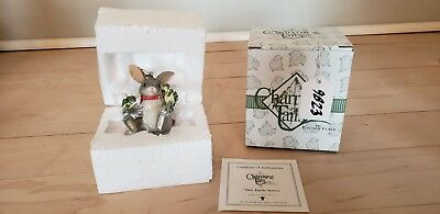NEW Charming Tails Fitz & Floyd Two Turtle Doves Ornament 86/2 in Original Box