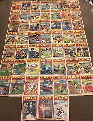 52 x TIGER comics from 1979 - Complete Year