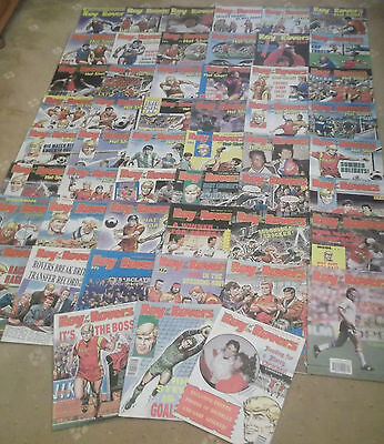 52 x ROY OF THE ROVERS from 1989 - Complete Year