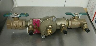 "(1) WATTS 3/4"" 007M3QT DC Backflow Prevention System 600 WOG NEW no box"