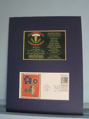 """New York State honors the Irish Brigade - """"The Fighting 69th"""" & First Day Cover"""