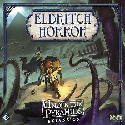 Eldritch Horror Under the Pyramids Board Game New Sealed