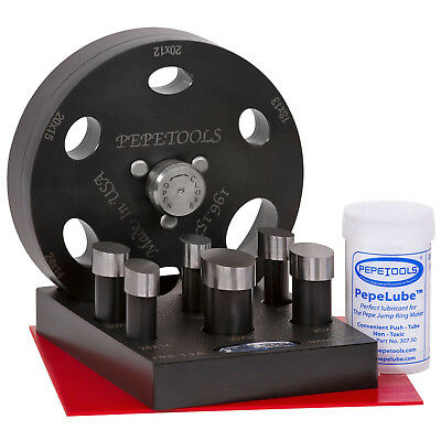 Pepetools Oval Cabochon Disc Cutter, 6 sizes included, Made in the USA
