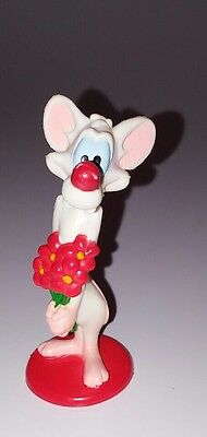 Vintage 1997 Pinky we flowers  Toy Figures PVC Animaniacs 3""